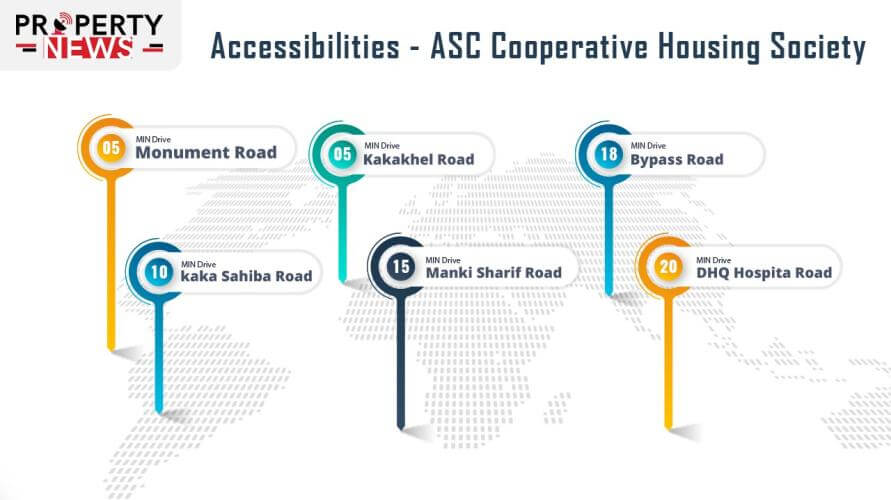 ASC Cooperative Housing Society Accessibility