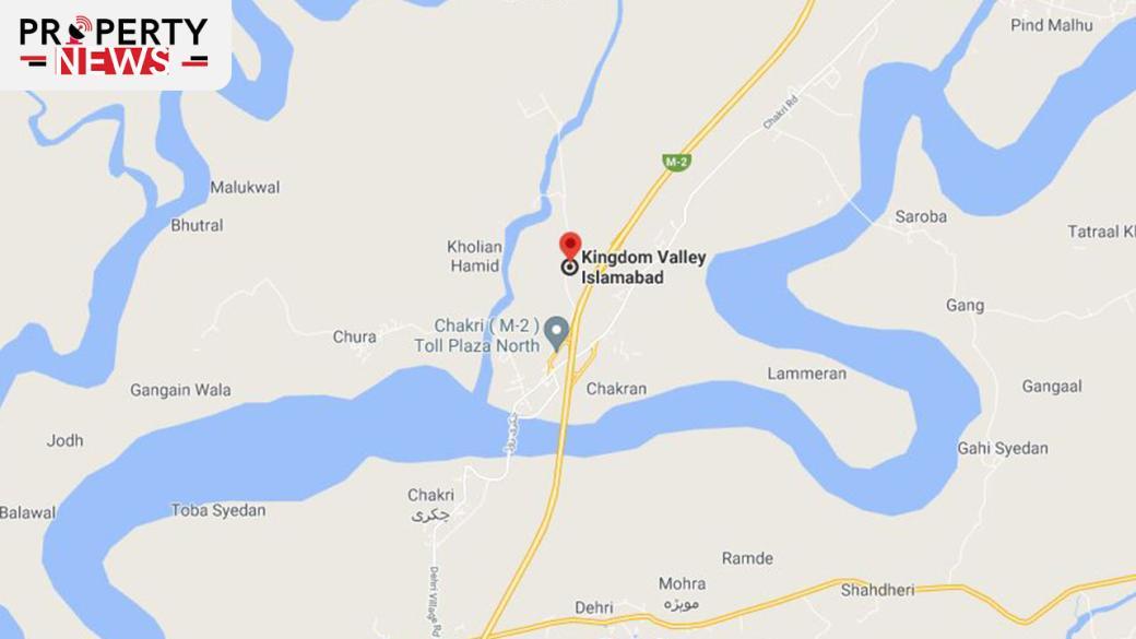 Kingdom Valley Islamabad Location